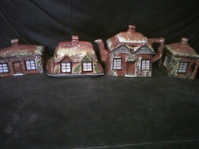 price cottage ware teapot, 2 butter dishes and sugar bowl. Good condition