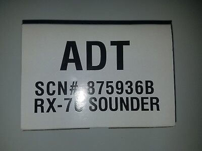 New  Adt Rx 7C Sounder