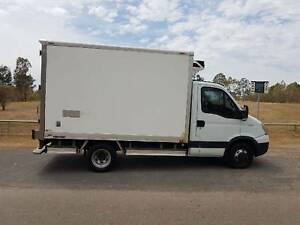 2011 IVECO DAILY 50C18 AGILE REFRIGERATED/ FREEZER PANTECH TRUCK.