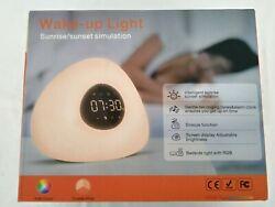 Wake up light Alarm Clock, Sunrise/Sunset Simulation.