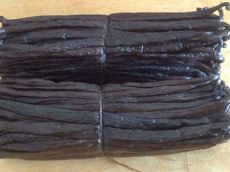"""10 Madagascar Vanilla Beans 5-5.5"""" Grade A free shipping"""