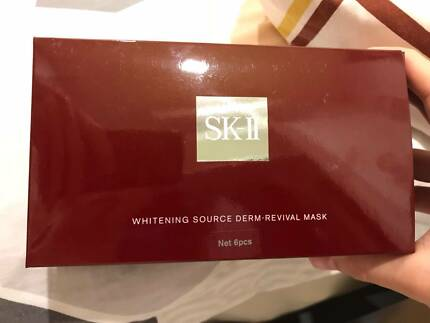 SKII  whitening source derm-revival mask 7pcs, with receipt