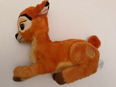 Disney Store Exclusive Deluxe BAMBI Animal Deer Toy, Soft and Plush