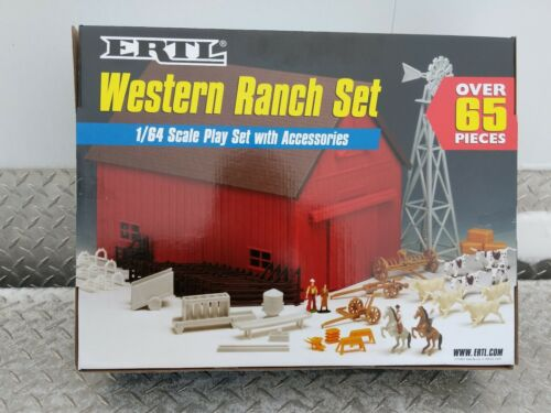 1/64 Ertl Farm Country Toy Building western ranch barn playSet s scale Sealed! 2