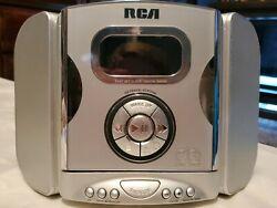 RCA RP3765B Digital AM/FM Stereo CD Clock Radio/Smart Snooze! Dual Wake! Works!