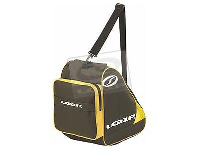 LO01 LOAP Ski Boot Bag Skischuhtasche Inline Skates Tasche Schuhtasche grau/gelb