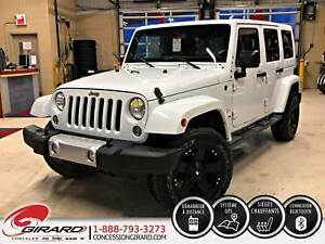 2015 Jeep Wrangler Unlimited SAHARA*BLUETOOTH*NAV*2 TOITS*MAGS R