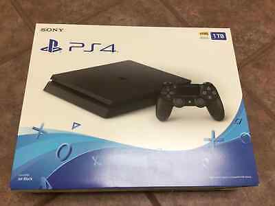Brand New Sony PlayStation 4 1TB Console - Jet Black Slim model