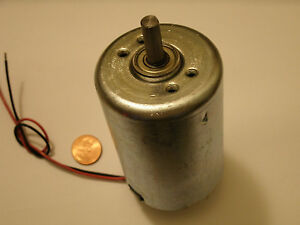 Sale giant electric dc hobby motor 2700rpm 12 volt for Permanent magnet motor generator sale