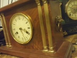 OLDER GERMAN FRANZ HERMLE KEY WOUND  MANTLE CLOCK