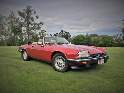 Classic Car Hire V12 Jaguar XJS Convertible Event Formals Wedding