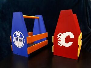 Calgary flames drink caddy