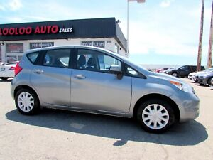 2014 Nissan Versa Note S 5 SPEED MANUAL NO ACCIDENT CERTIFIED 2Y