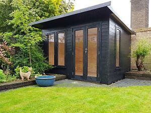 home office in the garden. Garden Room Summer House Home Office Double Glazed 11x7ft DEL\u0026 ERECTED Home Office In The Garden