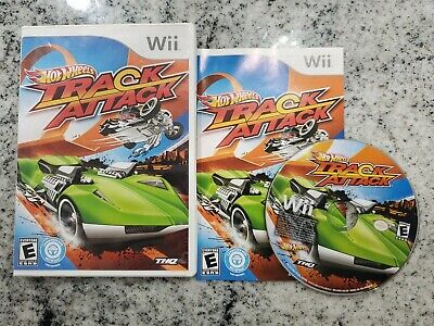 Hot Wheels: Track Attack - Wii - Complete - Tested SHIPS TOMORROW FOR FREE