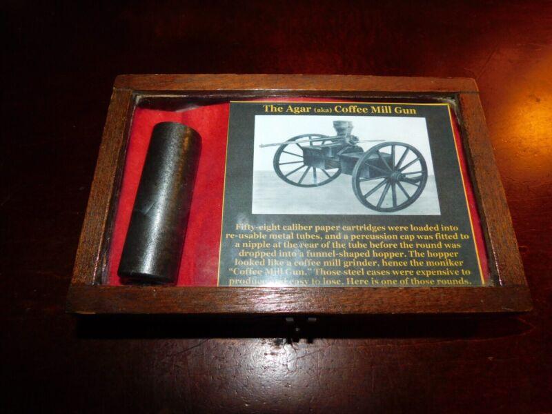 Agar Cartridge Chamber For Union Repeating Gun Non Dug