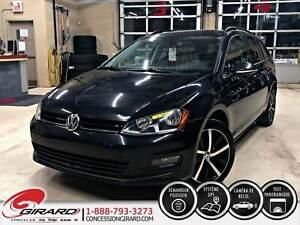 2016 Volkswagen GOLF SPORTWAGON COMFORTLINE*TOIT PANO*CUIR*NAV*E