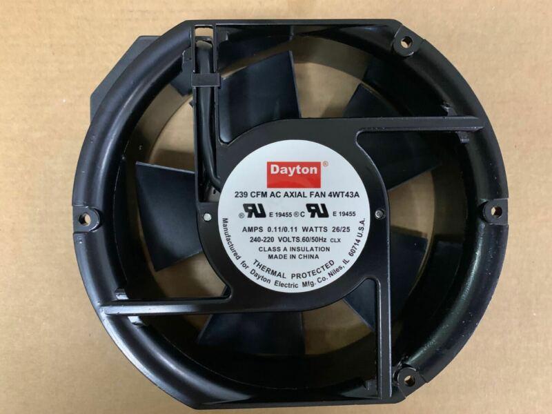 1PC Dayton 239 CFM AC AXIAL FAN 4WT43A 240-220V 26/25W Cooling Fan