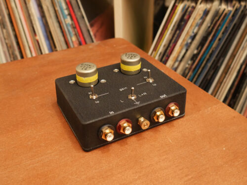 Moving Coil Phono Step Up w/ Haufe ST-5863 1:15/1:30 Transformers MC SUT