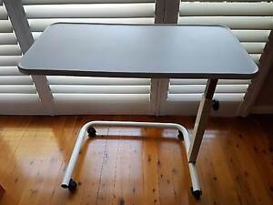 Hospital Overbed Adjustable Table Manly Vale Manly Area Preview