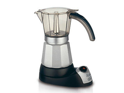 New DeLonghi Alicia Compact Electric Moka Pot Espresso Maker
