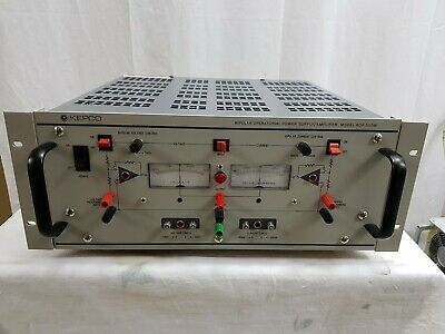 Kepco Bop500m Power Supply Dc Bipolar Operational Amplifier 500v 80ma 40w