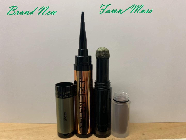 Josie Maran REM Pen / Crayon 2 in 1 Argan Eye Shadow & Gel Liner (Fawn/Moss) Anti-Aging Products