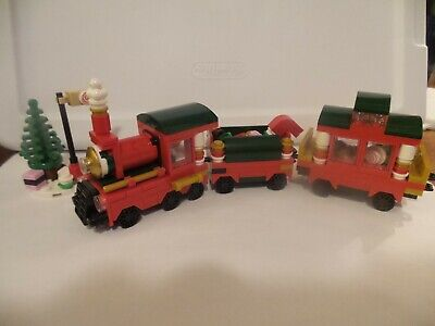 Lego Christmas Train 40138 Complete set w/ Box & Instructions Retired 233 pc 7+