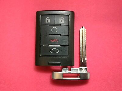 OEM Cadillac CTS STS Smart Key Keyless Prox 5B Trunk M3N5WY7777A Driver 2