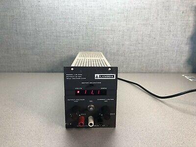 Lambda Lq-520 Regulated And Adjustable Power Supply 0-10v 5.0a