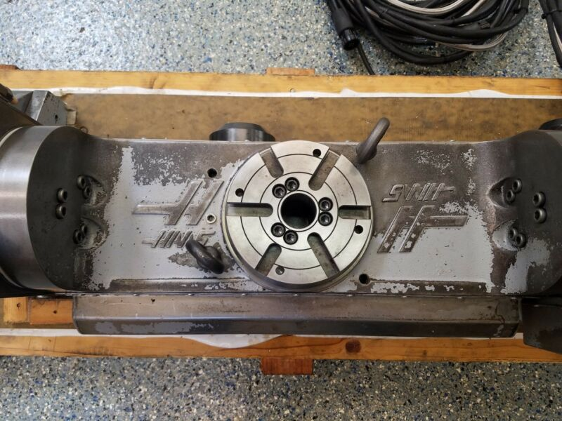 HAAS HRT-160 4TH AXIS BRUSHLESS ROTARY TABLE INDEXER **SIGMA 1**