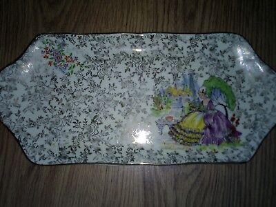 Empire Sheldon Staffordshire Cake Plate