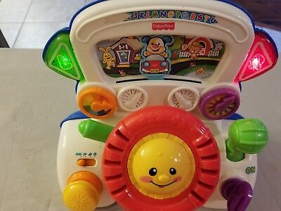 Fisher Price Laugh and Learn Rumble Driving Steering Wheel Toy