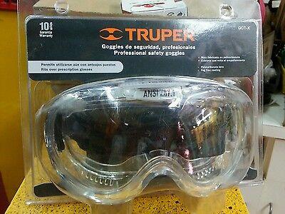 Professional Safety Goggles New Truper Model Got-x