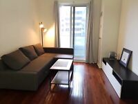 Luxury 1 bed room condo at Yonge and Bloor for rent