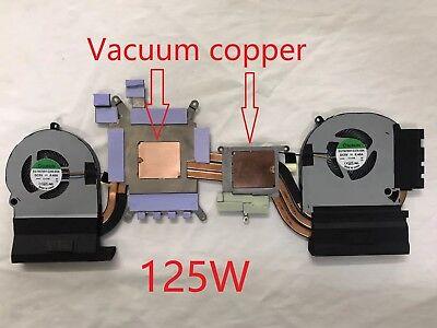 ALIENWARE 15R3 P69F CPU GPU Vacuum copper Cooling Fan With Heatsink