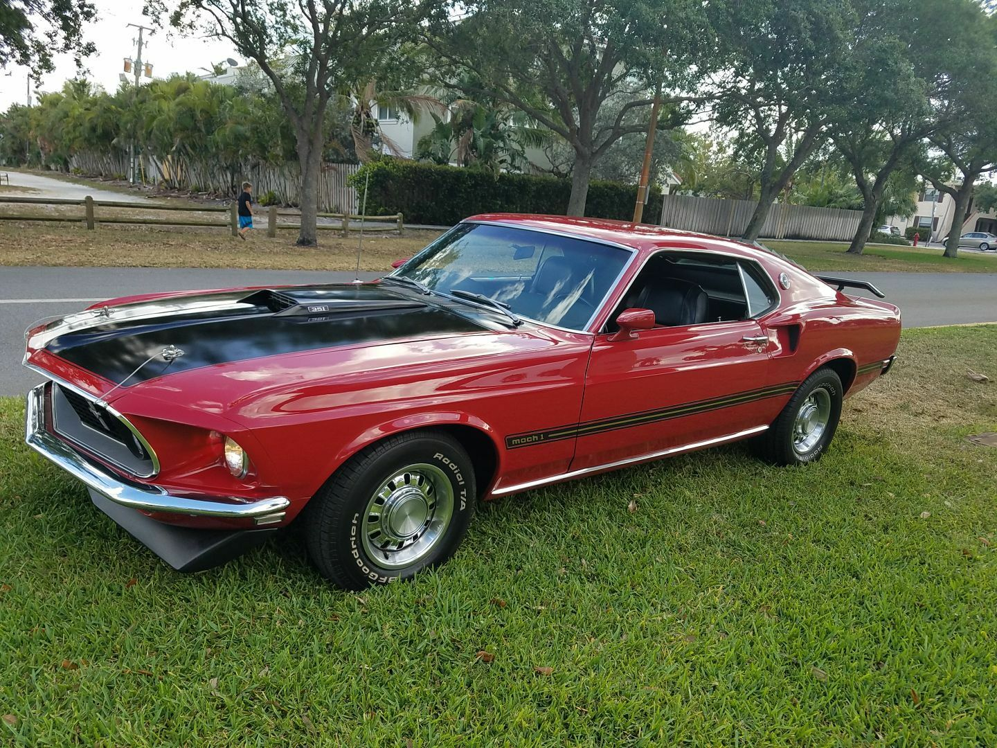 1969 FORD MUSTANG MACH 1 351 CU. IN. V-8 4 SPEED MANUAL  NO RESERVE VERY CLEAN!!