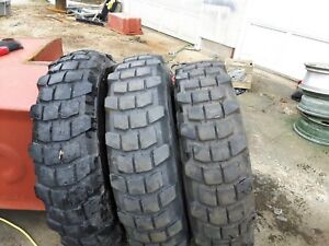 3 Michelin Tires,Military, Jeep, Army