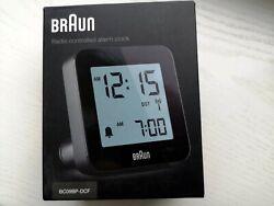 Braun radio controlled alarm clock BC09BP