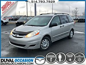 2008 Toyota Sienna CE 7 Passenger + CLIMATISATION + GROUPE ELECT