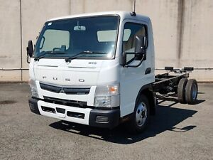 2021 Fuso Canter 615 White Cab Chassis Rocklea Brisbane South West Preview