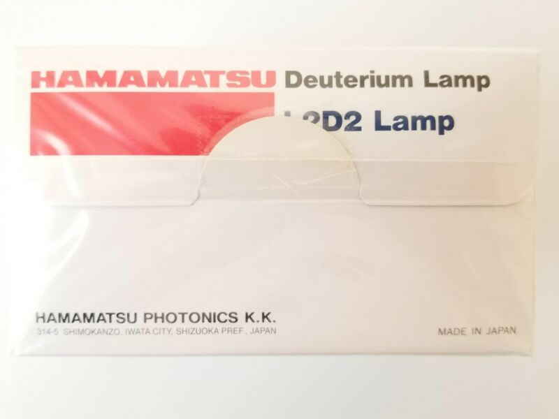 Hamamatsu L6633 L2D2 deuterium lamp New Sealed