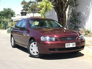 2005 FORD FALCON XT MKII SEDAN AUTO  Torrensville West Torrens Area Preview