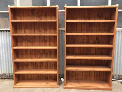 Cabinets Shelves Table with Drawers Great Condition From $30
