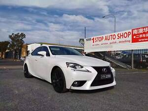 2015 Lexus IS300h LUXURY HYBRID, AUTO, 52K KMS, ONE OWNER, LOGBOOK Melrose Park Mitcham Area Preview
