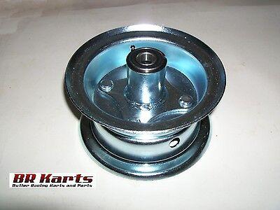 "5"" Rim & 5/8"" Front Hub Assembly Wheel Assembly Mini Bike Go Kart Parts"