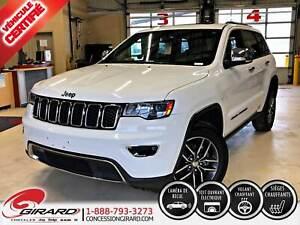 2018 Jeep Grand Cherokee LIMITED*CUIR*TOIT*MAGS*CAMÉRA*SIÈGES CH