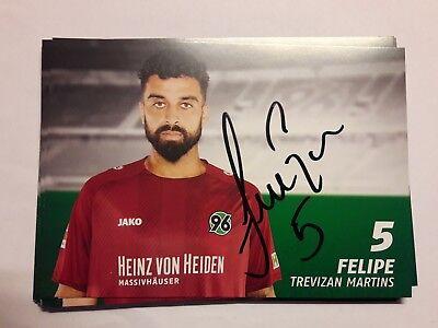 Signierte AK Felipe Hannover 96 NEU 18/19