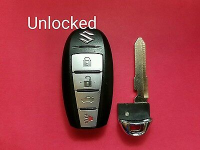 UNLOCKED OEM Suzuki Kizashi smart key keyless entry fob KBRTS009