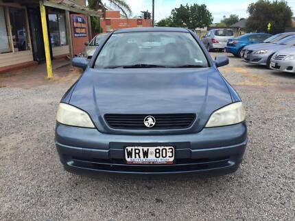 2001 Holden Astra 3 door Hatchback, MANUAL, 167K KMS, REGO
